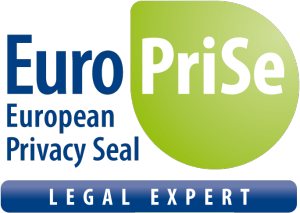 Anerkannter Sachverständiger für das europäische Datenschutzsiegel EuroPriSe